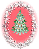 Χριστούγεννα και νέο σχέδιο έτους Στοκ εικόνες με δικαίωμα ελεύθερης χρήσης