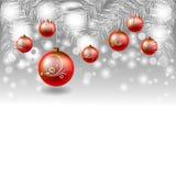 Χριστούγεννα και νέο σχέδιο έτους Στοκ εικόνα με δικαίωμα ελεύθερης χρήσης