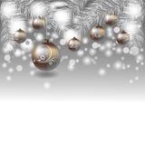 Χριστούγεννα και νέο σχέδιο έτους Στοκ Εικόνα