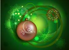 Χριστούγεννα και νέο σχέδιο έτους Στοκ φωτογραφίες με δικαίωμα ελεύθερης χρήσης