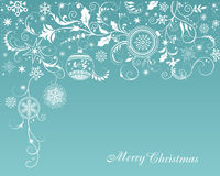 Χριστούγεννα και νέο υπόβαθρο έτους ` s Στοκ Φωτογραφίες