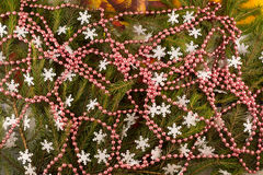 Χριστούγεννα και νέο υπόβαθρο έτους ` s Στοκ Εικόνες
