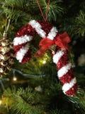 Χριστούγεννα καλάμων καραμελών Στοκ φωτογραφία με δικαίωμα ελεύθερης χρήσης