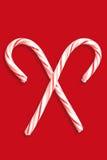 Χριστούγεννα καλάμων καρ&a Στοκ εικόνες με δικαίωμα ελεύθερης χρήσης