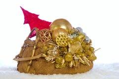 Χριστούγεννα καλαθιών Στοκ φωτογραφίες με δικαίωμα ελεύθερης χρήσης
