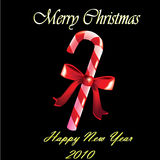 Χριστούγεννα καραμελών Στοκ φωτογραφίες με δικαίωμα ελεύθερης χρήσης