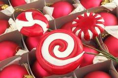 Χριστούγεννα καραμελών στοκ εικόνες με δικαίωμα ελεύθερης χρήσης