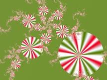 Χριστούγεννα καραμελών Στοκ εικόνα με δικαίωμα ελεύθερης χρήσης