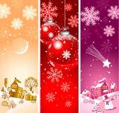Χριστούγεννα καρτών ανασ&kap Στοκ Εικόνες