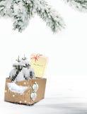 Χριστούγεννα καρτών εορτ&a Στοκ φωτογραφία με δικαίωμα ελεύθερης χρήσης