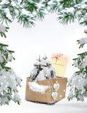 Χριστούγεννα καρτών εορτ&a Στοκ φωτογραφίες με δικαίωμα ελεύθερης χρήσης