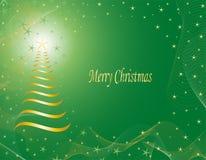 Χριστούγεννα καρτών εύθυμα Στοκ φωτογραφία με δικαίωμα ελεύθερης χρήσης