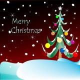 Χριστούγεννα καρτών εύθυμ Στοκ Εικόνες