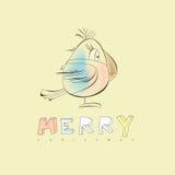 Χριστούγεννα καρτών πουλ ελεύθερη απεικόνιση δικαιώματος