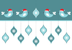 Χριστούγεννα καρτών πουλ Στοκ φωτογραφία με δικαίωμα ελεύθερης χρήσης