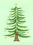 Χριστούγεννα καρτών που κ Στοκ φωτογραφία με δικαίωμα ελεύθερης χρήσης