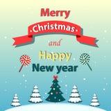 Χριστούγεννα καρτών που χ&a επίσης corel σύρετε το διάνυσμα απεικόνισης Στοκ φωτογραφίες με δικαίωμα ελεύθερης χρήσης
