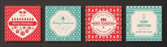 Χριστούγεννα καρτών που χ&a Στοκ εικόνες με δικαίωμα ελεύθερης χρήσης
