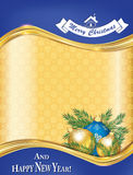 Χριστούγεννα καρτών που χ&a Στοκ Φωτογραφία