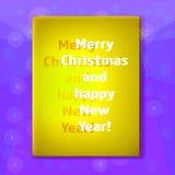 Χριστούγεννα καρτών που χ&a Στοκ Φωτογραφίες