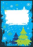 Χριστούγεννα καρτών Στοκ εικόνα με δικαίωμα ελεύθερης χρήσης