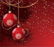 Χριστούγεννα καρτών Στοκ φωτογραφία με δικαίωμα ελεύθερης χρήσης
