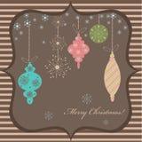 Χριστούγεννα καρτών Στοκ Εικόνες