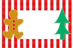 Χριστούγεννα καρτών Στοκ Φωτογραφία