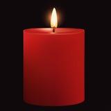 Χριστούγεννα κεριών διανυσματική απεικόνιση