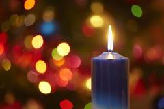 Χριστούγεννα κεριών Στοκ Φωτογραφίες
