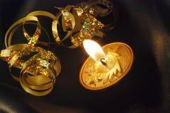 Χριστούγεννα κεριών Στοκ εικόνα με δικαίωμα ελεύθερης χρήσης
