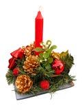 Χριστούγεννα κεριών Στοκ εικόνες με δικαίωμα ελεύθερης χρήσης