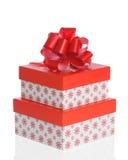 Χριστούγεννα κιβωτίων στοκ φωτογραφίες με δικαίωμα ελεύθερης χρήσης