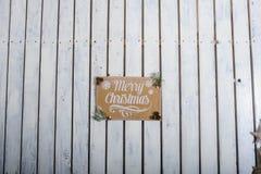 Χριστούγεννα κινητήρια Στοκ φωτογραφία με δικαίωμα ελεύθερης χρήσης