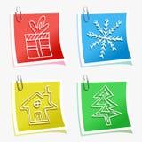 Χριστούγεννα κολλώδη Στοκ Εικόνα