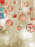 Χριστούγεννα κομψό eps 8 μπιχλ Στοκ φωτογραφία με δικαίωμα ελεύθερης χρήσης