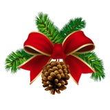 Χριστούγεννα κορδελλών Στοκ εικόνες με δικαίωμα ελεύθερης χρήσης