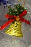 Χριστούγεννα κουδουνιών για το έμβλημα και το φυλλάδιό σας Στοκ εικόνες με δικαίωμα ελεύθερης χρήσης