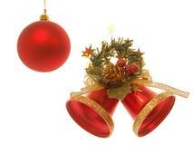 Χριστούγεννα κουδουνιών Στοκ Εικόνες