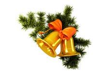 Χριστούγεννα κουδουνιών Στοκ εικόνες με δικαίωμα ελεύθερης χρήσης