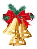 Χριστούγεννα κουδουνι Στοκ φωτογραφία με δικαίωμα ελεύθερης χρήσης