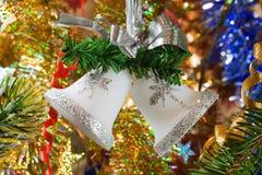 Χριστούγεννα κουδουν&iota στοκ φωτογραφίες
