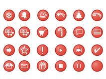Χριστούγεννα κουμπιών Στοκ Εικόνες