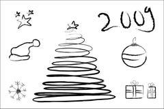 Χριστούγεννα κτυπήματος Στοκ εικόνες με δικαίωμα ελεύθερης χρήσης
