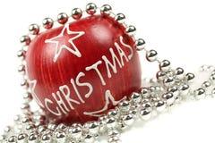 Χριστούγεννα μήλων Στοκ Εικόνα