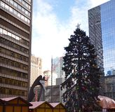 Χριστούγεννα ματιών του Πικάσο Στοκ Εικόνες