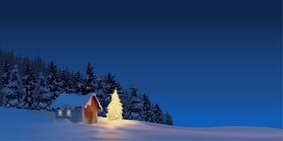 Χριστούγεννα μεγάλα διανυσματική απεικόνιση