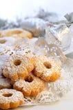 Χριστούγεννα μπισκότων Στοκ εικόνες με δικαίωμα ελεύθερης χρήσης