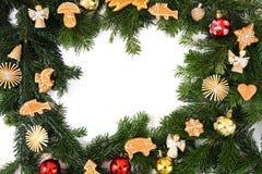 Χριστούγεννα μπισκότων chritsmas ανασκόπησης Στοκ Φωτογραφίες