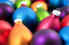 Χριστούγεννα μπιχλιμπιδιών ζωηρόχρωμα στοκ φωτογραφία με δικαίωμα ελεύθερης χρήσης